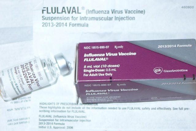 In Grippeimpfstoff Flulaval wurden extreme Quecksilbermengen getestet Foto: Naturalnews-Flulaval