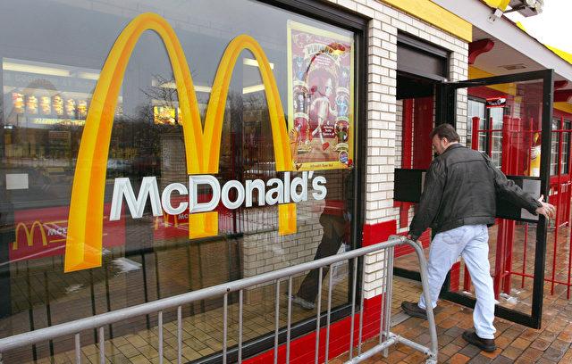 McDonalds muss Filialen schließen. Die Nachfrage nach gesunden Lebensmitteln wächst Foto: Tim Boyle/Getty Images