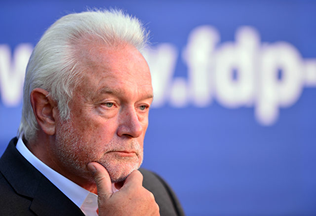Wolfgang Kubicki, FDP-Chef Schleswig-Holstein Foto: Getty Images