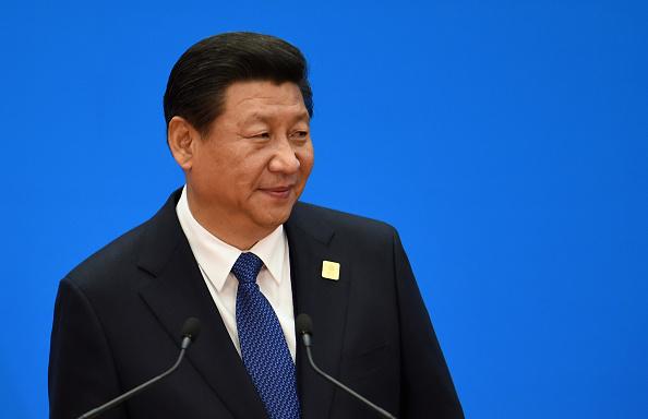 Chinas Staatschef Xi Jinping Foto: Goh Chai Hin - Pool Getty Images