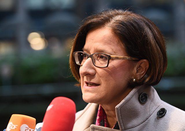 Innenministerin von Österreich, Johanna Mikl-Leitner (ÖVP) Foto: EMMANUEL DUNAND/AFP/Getty Images