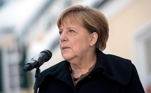 Deutsch Bundeskanzlerin Angela Merkel spricht zu den Medien während der Wintertagung der CSU (CSU) Landtagsfraktion am 20. Januar 2016 in Wildbad Kreuth. Foto: PETER Kneffel / AFP / Getty Images