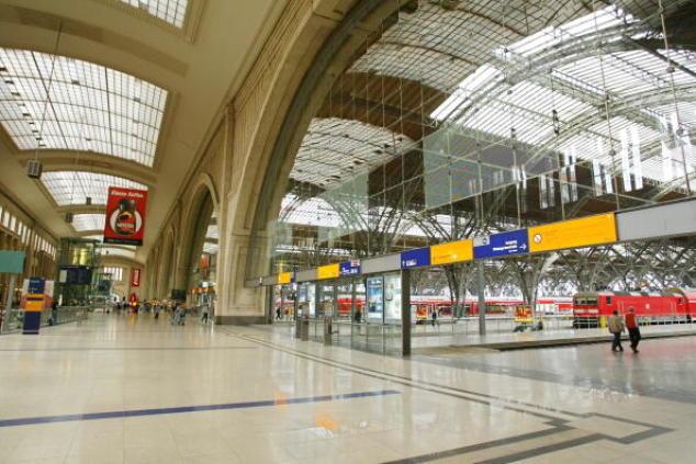 Der Leipziger Hauptbahnhof, wo der Vorfall Samstagnacht stattfand.Foto: Vladimir Rys/Bongarts/Getty Images