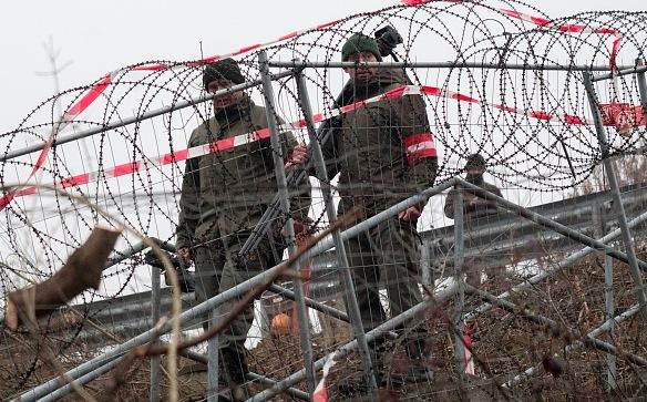 Österreichisch-slowenische Grenze Foto: OE KLAMAR/Getty Images
