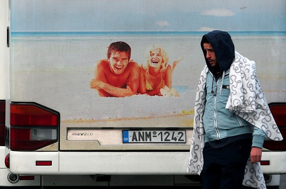 Flüchtlingskrise in Europa Foto: SAKIS MITROLIDIS/Getty Images