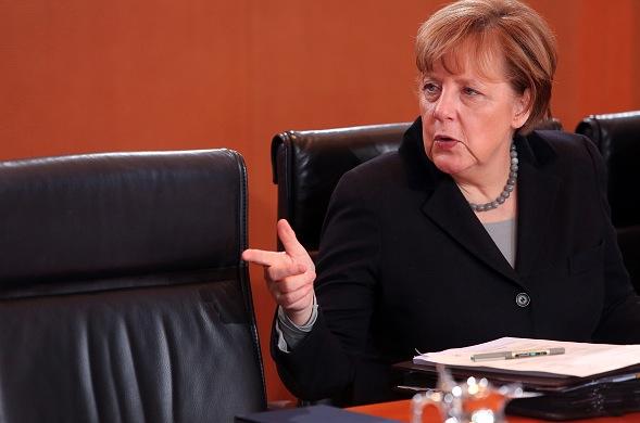 Angela Merkel Foto: Adam Berry/Getty Images