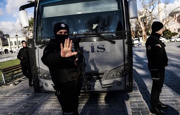 Türkische Polizei Foto: BULENT KILIC/Getty Images