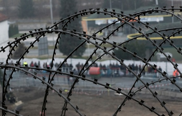 Flüchtlingskrise in Österreich Foto: JOE KLAMAR/Getty Images