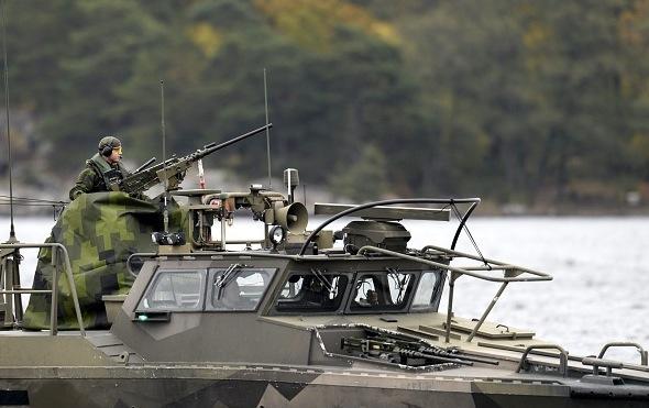 Schwedisches Militär Foto: PONTUS LUNDAHL/Getty Images