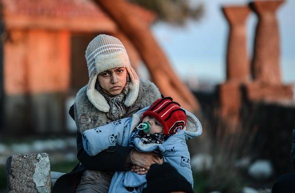 Flüchtlingskrise in Europa Foto: OZAN KOSE/Getty Images