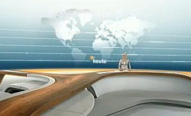 """ZDF """"heute""""-Studio Foto: ZDF, über dts Nachrichtenagentur"""