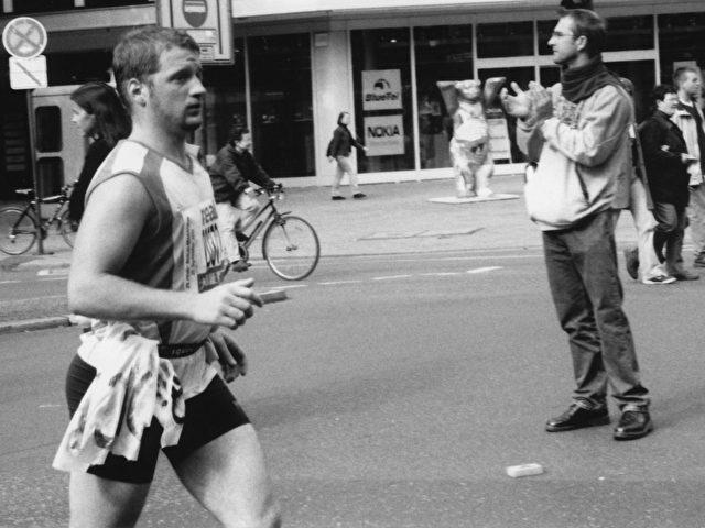 Jacob Porstmann, Teilnehmer am Berlin Marathon 2002.  (Jacob Porstmann)