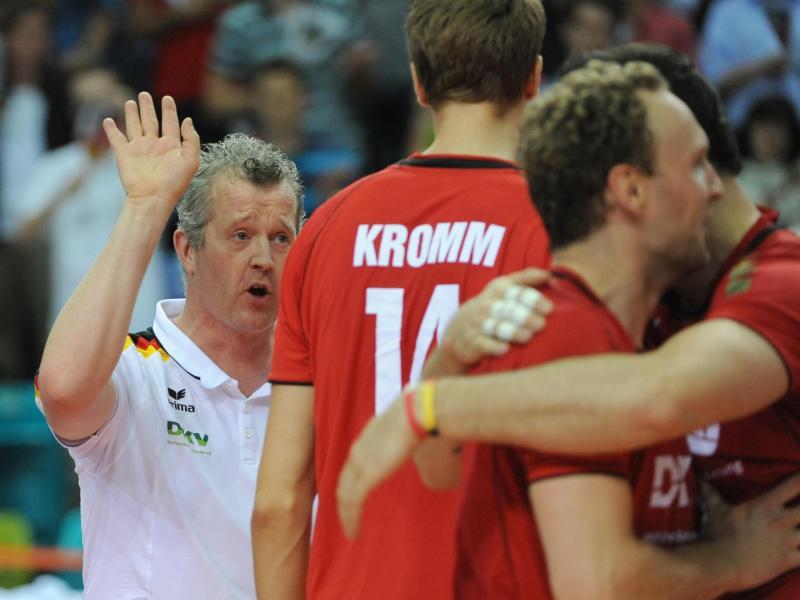 Volleyballer Kromm fällt für Olympia-Quali verletzt aus