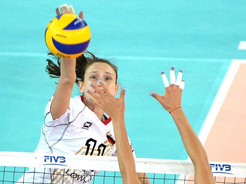 Volleyballerinnen starten erfolgreich in Olympia-Qualifi