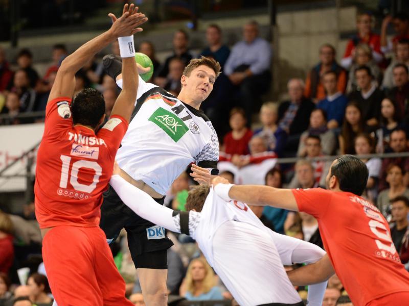 Vorne hui, hinten pfui: Handballer suchen nach EM-Form