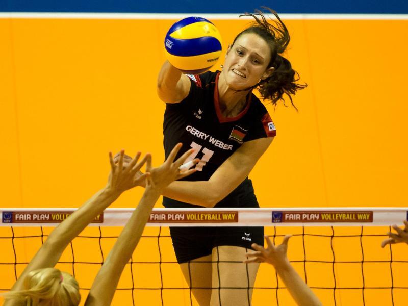 Volleyballerinnen wahren in Ankara Chance auf Halbfinale