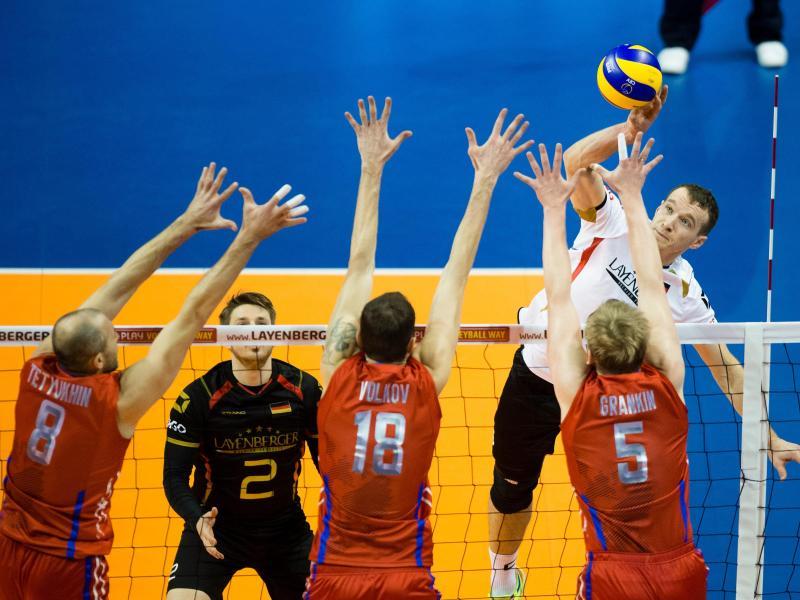 Volleyballer verpassen direkte Rio-Qualifikation