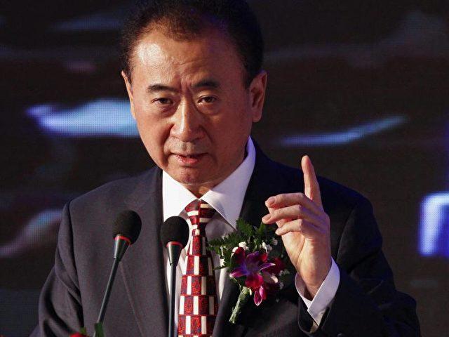 Der Chef der chinesischen Wanda Group Wang Jianlin. Foto:Rolex Dela Pena/dpa