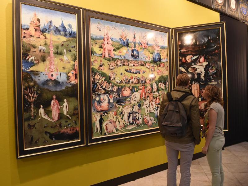 Gemälde von Himmel und Hölle: Hieronymus Bosch starb vor 500 Jahren