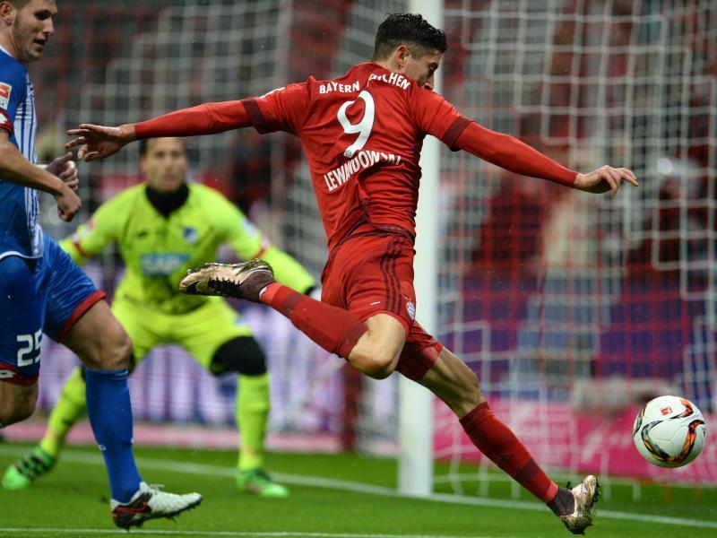 Bayern mit 2:0 gegen Hoffenheim weiter auf Titelkurs