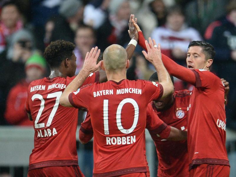 FC Bayern mit Pflichtsieg gegen Hoffenheim