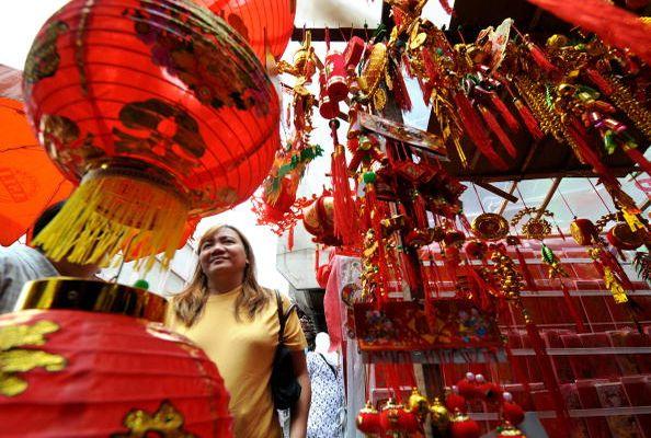 In Indonesien feiern die Menschen auch das chinesische Neujahr.   Foto: Jewel Samad/AFP/Getty Images