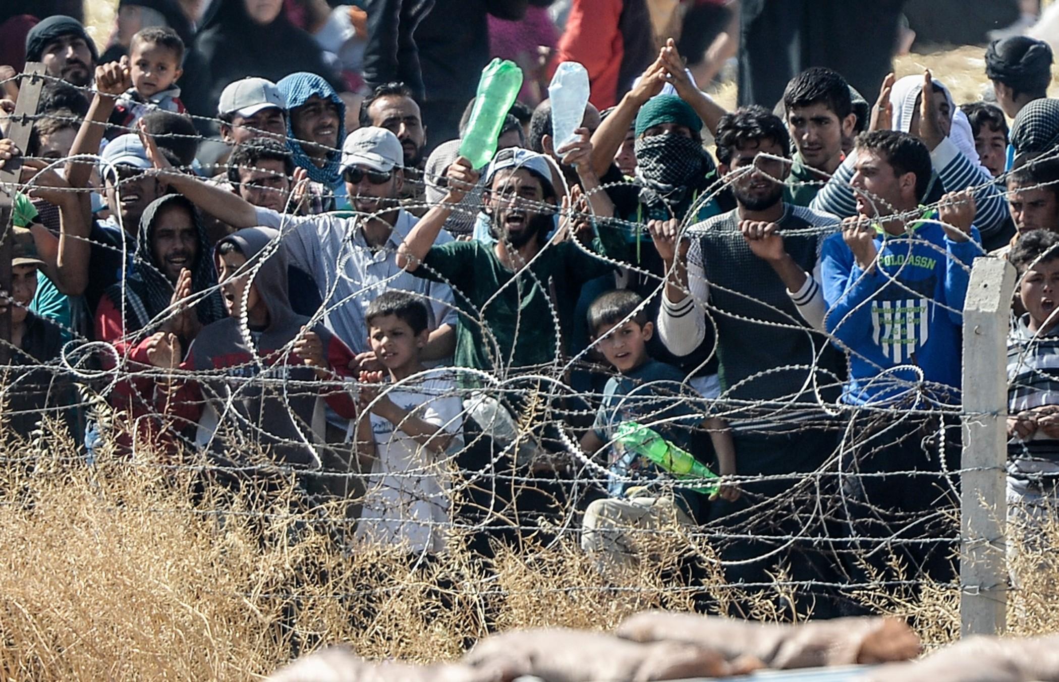 Menschenrechtler: Ankara verweigert syrischen Flüchtlingen Einreise und Versorgung