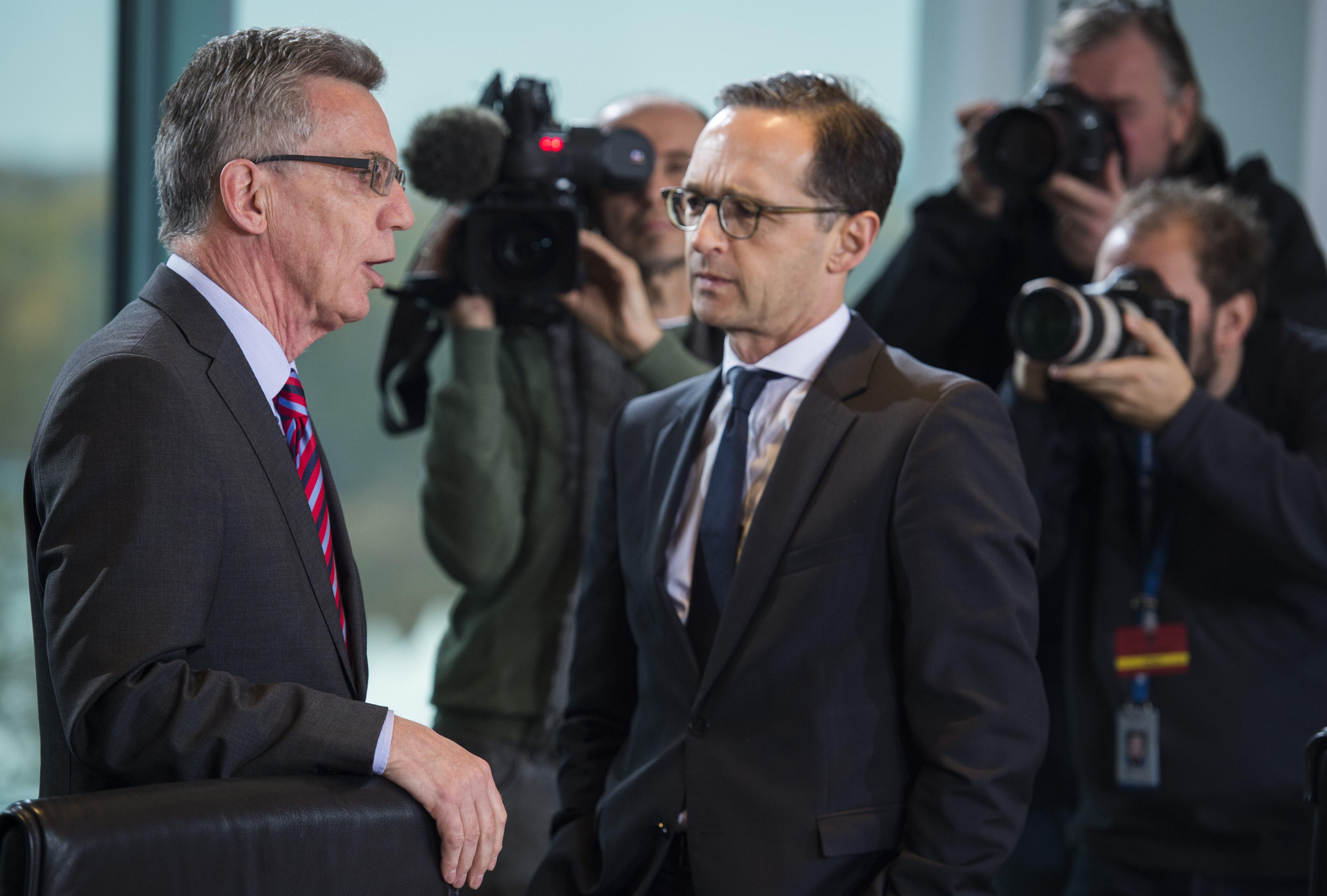 Maas will mit de Maizière über Konsequenzen aus Weihnachtsmarkt-Anschlag beraten