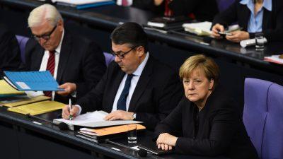 """Gabriel nach Sozialpaket-Blockade: """"Merkel für Radikalisierung im Land mitverantwortlich"""""""