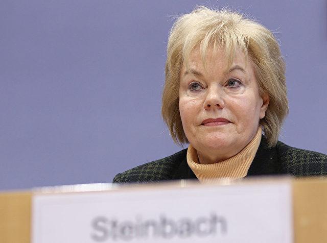 CDU-Politikerin Erika Steinbach hat mit einem Tweet ins Wespennest gestochen. Foto: Andreas Rentz/Getty Images