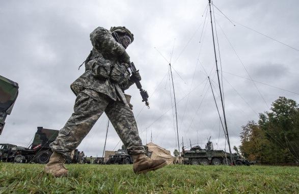 Amerikanische Soldaten in Deutschland Foto: DPA/Getty Images