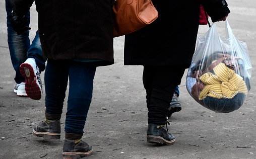 Flüchtlingskrise in Deutschland Foto: TOBIAS SCHWARZ/Getty Images