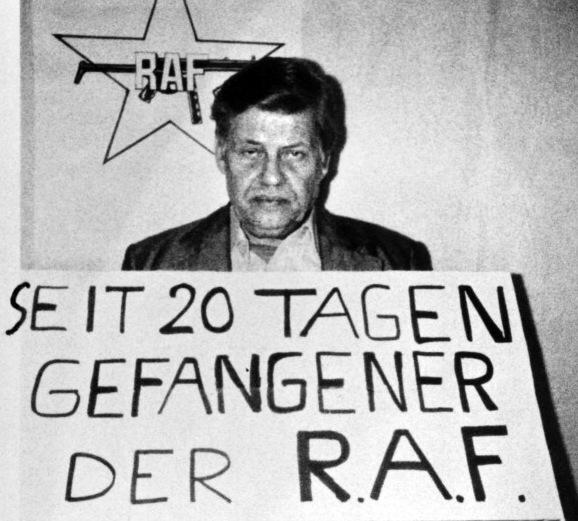 Hanns-Martin Schleyer war in 1977 Gefangener der RAF und wurde von den Extremisten ermordet. Foto: AFP/Getty Images