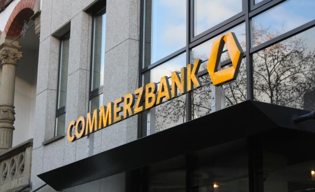 """Commerzbank erhebt """"Individuelle Guthabengebühr"""" für Mittelstand"""