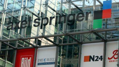 Springer, Soros und der Welt-Chefreporter