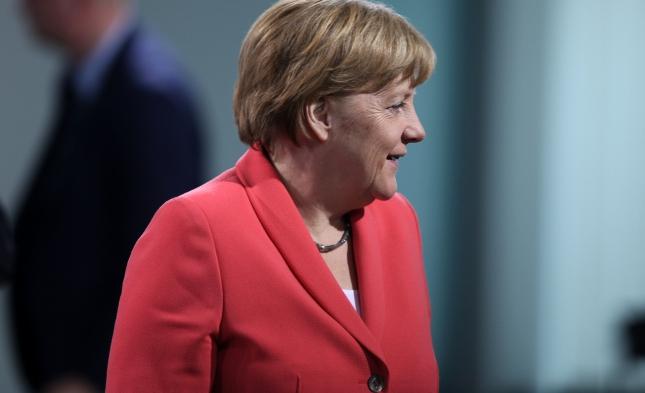 Umfrage: Zufriedenheit mit Merkels Arbeit nimmt wieder zu