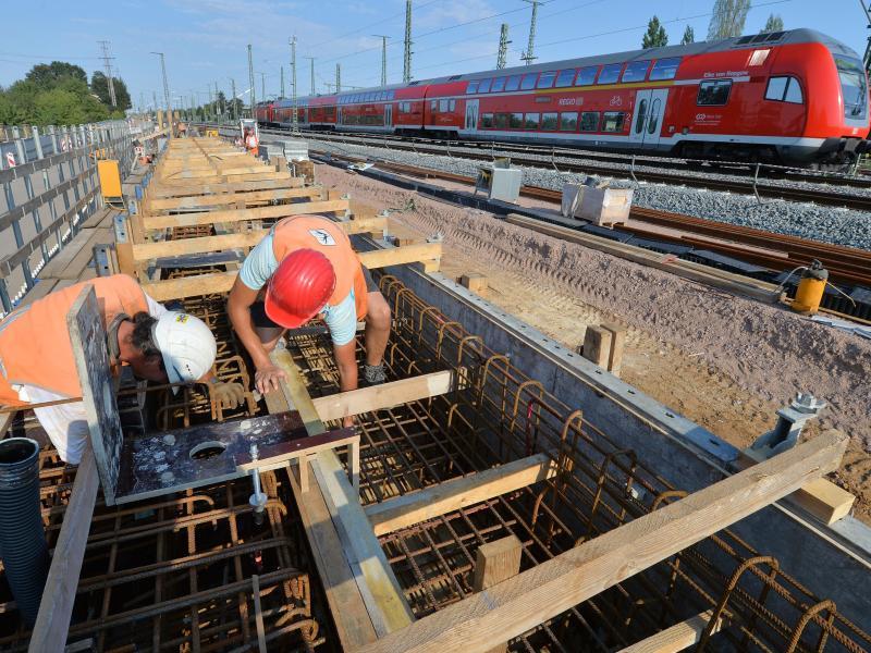 Großbaustellen der Bahn bringen Verspätungen und Sperrungen