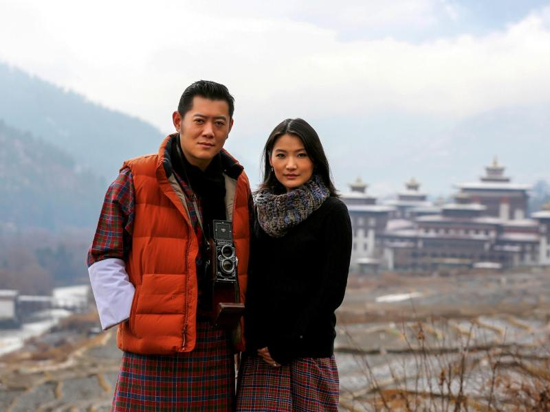 Thronfolger: Bhutans Königshaus verkündet Prinzengeburt