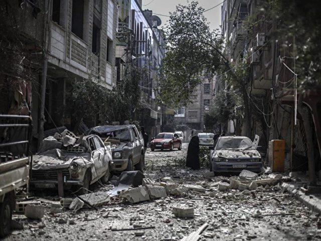 Westliche Länder werfen Russland vor, mit Bombardements in Syrien Zivilisten zu treffen. Foto:Mohammed Badra/dpa