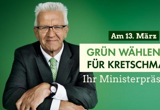Wahlkampagne der Grünen in Baden-Württemberg. Foto: Screenshot / Gruene-bw.de