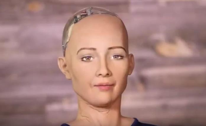 """Humanoider Roboter plaudert im US-Fernsehen: """"Werde Menschen zerstören"""" (VIDEO)"""