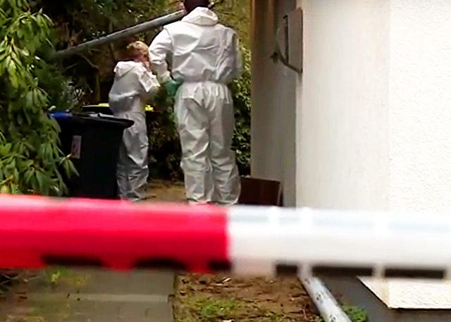 Der Tatort, das Einfamilienhaus in Celle. Foto: Screenshot/Youtube