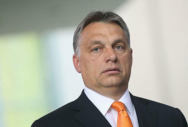 """Ungarns Ministerpräsident warnt vor """"Jahrzehnten der Völkerwanderung"""". Er sieht ein politisches Komplott zur Umformung Europas. Foto: Sean Gallup/Getty Images"""