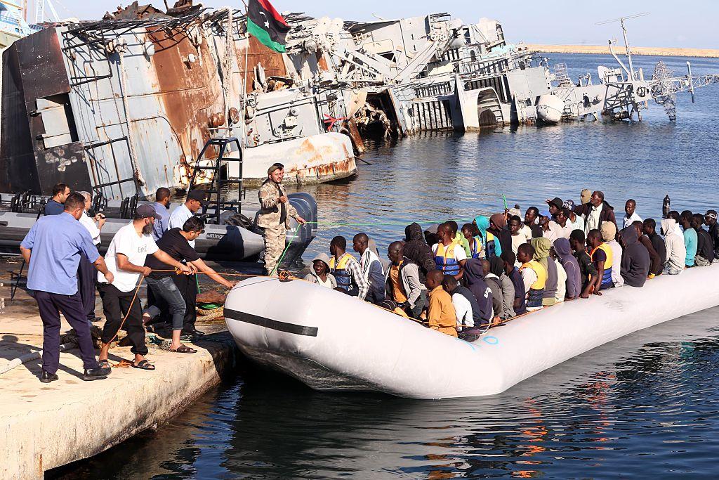 800.000 Flüchtlinge in Libyen warten auf Weiterreise