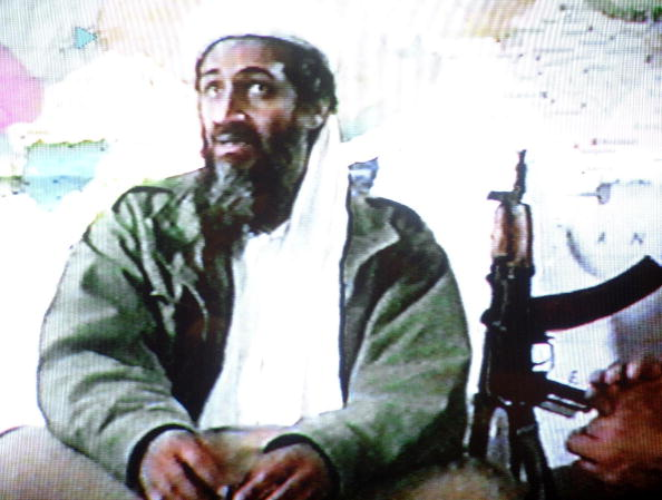 Terrorchef der Al-Kaida, Osama Bin Laden, 2001 Foto: AFP/Getty Images