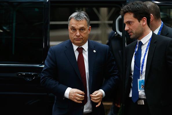 Viktor Orban bei seiner Ankunft in Brüssel am 7. März 2016 Foto: Dean Mouhtaropoulos/Getty Images