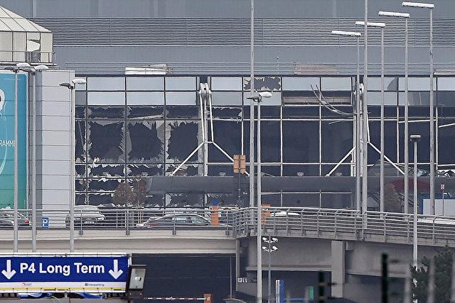 Der Brüsseler Flughafen wurde am 22. März Ziel von Anschlägen. Schon am 18. plante die Polizei den Sicherheits-Streik. Foto: JOHN THYS/AFP/Getty Images