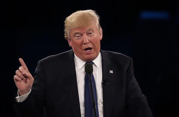 US-Präsidentschaftskandidat Donald Trump Foto: Alex Wong/Getty Images