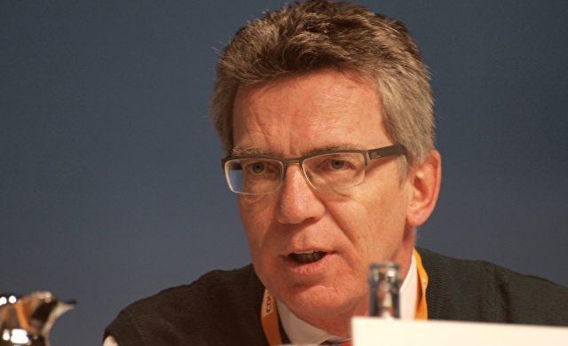 Thomas de Maizière Foto: über dts Nachrichtenagentur