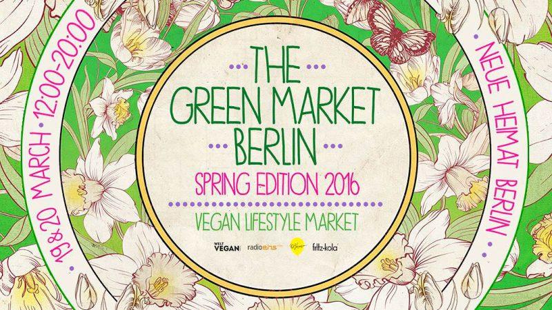 """Ostergeschenke und vegane Küche auf """"The Green Market Berlin"""""""